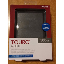 Disco Externo Portatil Hitachi Touro 500gb 3.0 - Cibernek