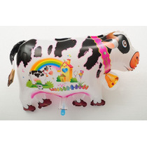 Globo Forma De Vaca Por 1 Unidad 65cm