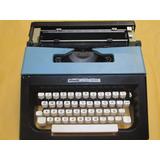 Maquina De Escribir Portatil, Olivetti, Lettera 25, Negra