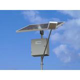 Poste Iluminação Solar 5 M Altura.autonomia 60 H 1800 Lumens