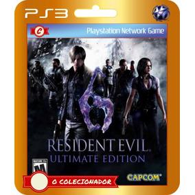 Resident Evil 6 Ultimate Edition (código Ps3)