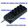 Inteligente Filtro De Linha Com Camera Ip Real Time Spy