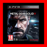 Metal Gear Solid V: Ground Zeroes Ps3 Digital Oferta !!!