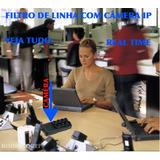 Spy Espiao Filtro De Linha Camera Tempo Real Spy Wladmir