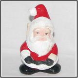 Servilletero Santa Claus Navideño 13x9x9cm Adorno De Navidad