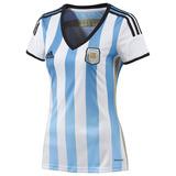 Camisa Da Argentina Feminina Copa 2014 Original.