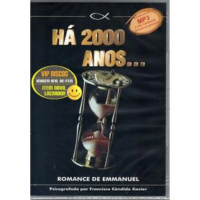 Há 2000 Anos Chico Xavier Audio Livro 3 Cds 19 Horas Novo