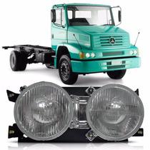 Farol Caminhão Mercedes 1620 2000 A 2012 Bicudo Lado Direito