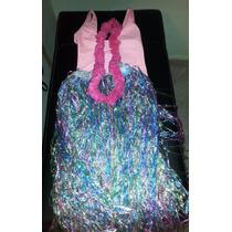 Disfraz De Hawaiana Para Niña , Talla 10
