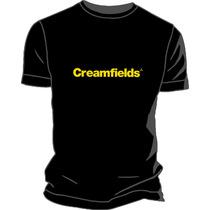 Remera Creamfields Estampada Ploteada Vinilo