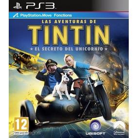 Juego Ps3 Las Aventuras De Tintin Original Fisico Confortsur