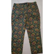 Pantalón Retro Tipo Pescador Talla 14 Petite