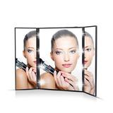 Espejo Led 3 Lados Maquillaje Con Luces Led Forma De Corazon