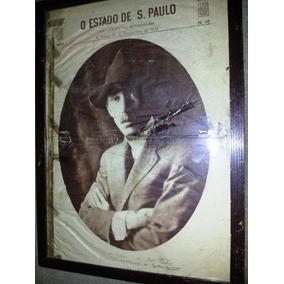 Santos Dumont Jornal Antigo Dia De Falecimento 1939 Original