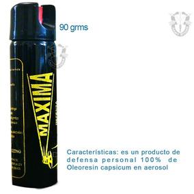 Gas Pimienta/lacrimogeno Defensa Personal Spray 90 G P/bolso