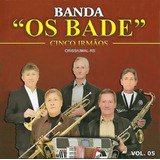 Cds Banda Os Bade - Vol. 1, 2, 3, 4, 5