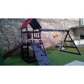 Juego Infantil De Madera Para Jardín