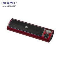 Caixa De Som Midibox 5w Rms Vermelha C3 Tech #7849