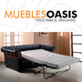 Sofa Cama 2 Plazas Sillon Chesterfield Capitone Original