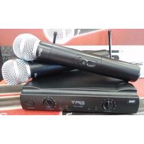 Microfone S/fio Duplo Tagima Tagsound Tm 559b Garantia