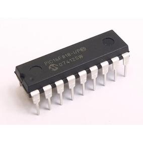 Ci Pic16f818 Microchip Arduino Dip18 Pic 16 F 818 I / P