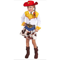 Disfraz Vaquerita Jessie Carnavalito Talla 8 (sombrero Inclu