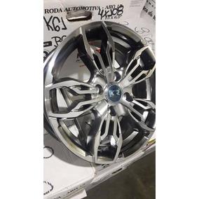 Jogo Roda New Fiesta Aro 14 4/5 Furos Ka Focus Ford K61 Rs3