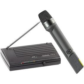 Microfone Sem Fio Skp Vhf655 De Mão Com Frequencia Vhf