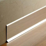 Zocalo Slim Aluminio Anodizado Sanitario Porcelanato 2063