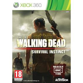 Jogo Novo The Walking Dead Survival Instinct Para Xbox 360