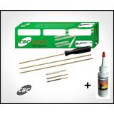 Kit De Limpeza Para Carabina Calibre 5.5mm E Rifle 22 + Oleo
