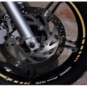 Friso Adesivo Refletivo Rec07 Roda Moto Yamaha Fazer 250