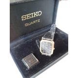 Reloj Seiko Quartz Japones En Caja