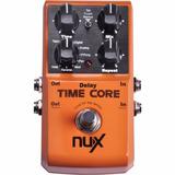 Pedal Delay Loop Nux Time Core 7 Efeitos - Loja Kadu Som