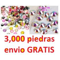 3,000 Piedra Cristal Envio Gratis Uñas Acrilico Swarovski