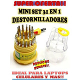 Kit Destornilladores 31 En 1 Samsung Blackberry Nokia Laptop
