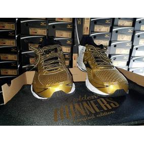 Mizuno Wave Ultima 7 Golden Runners 2016 Original + Brindes
