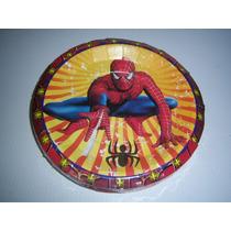 Platos Vasos Desechables Fiesta Hombre Araña Spiderman