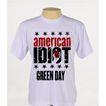 Camisa Camiseta Banda Rock Green Day American Idiot
