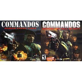 Jogo Pc Commandos Beyond + Behind Lines Envio Imediato