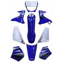 Kit Carenagem Completo Xtz 125 Azul 2012 C/adesivada