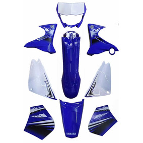 Kit Carenagem Completo Xtz 125 Azul 2012 C/adesivada