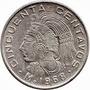 Moneda Antigua 50 Centavos Mexicana. Cuauhtémoc.