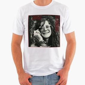 Camiseta Rock - Janis Joplin, Jimi Hendrix, The Doors