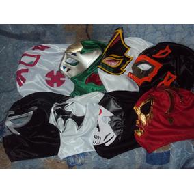 Lote De 20 Mascaras De Luchadores P/adulto Envio Gratis 1dia