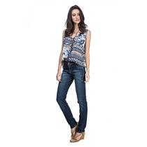Calça Maria Valentina 201843 - Jeans - Delabela Calçados