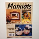 Revista Trabalhos Manuais Papel Vegetal Porcelana Fria Nº11