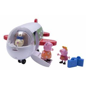 Avião Peppa Pig Holiday C/ Bonecos- Lançamento- Original Eua