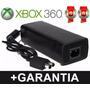 Fonte Xbox 360 Slim Bivolt 100v-245v 135w Ac Cabo De Força