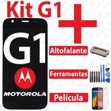Tela Touch Display Moto G1 + Altofalante + Chaves + Pelicula